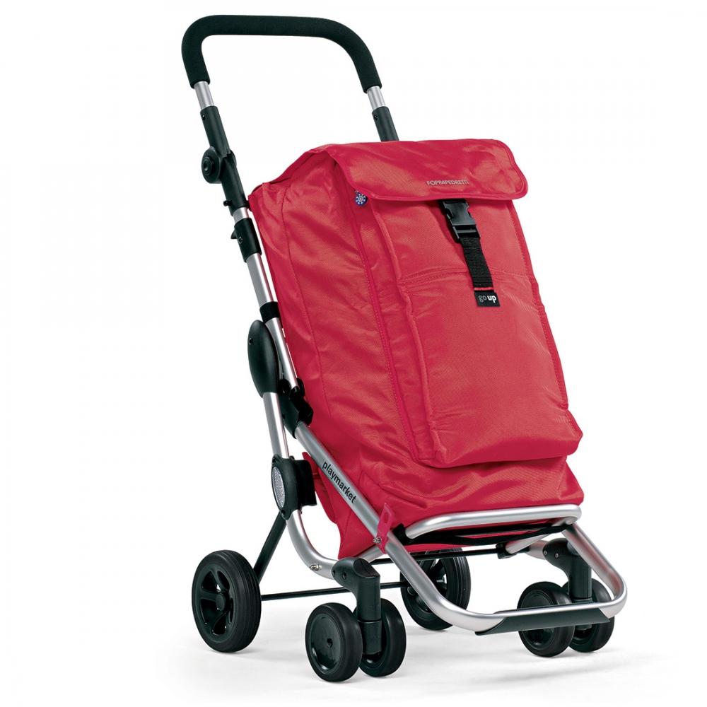Foppapedretti Carrello Spesa 48x40xh110 cm Alluminio Grigio 9702001200 Go Up