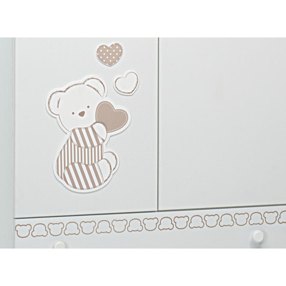 Dolcissimo orsetto decora l'armadio Dolcecuore