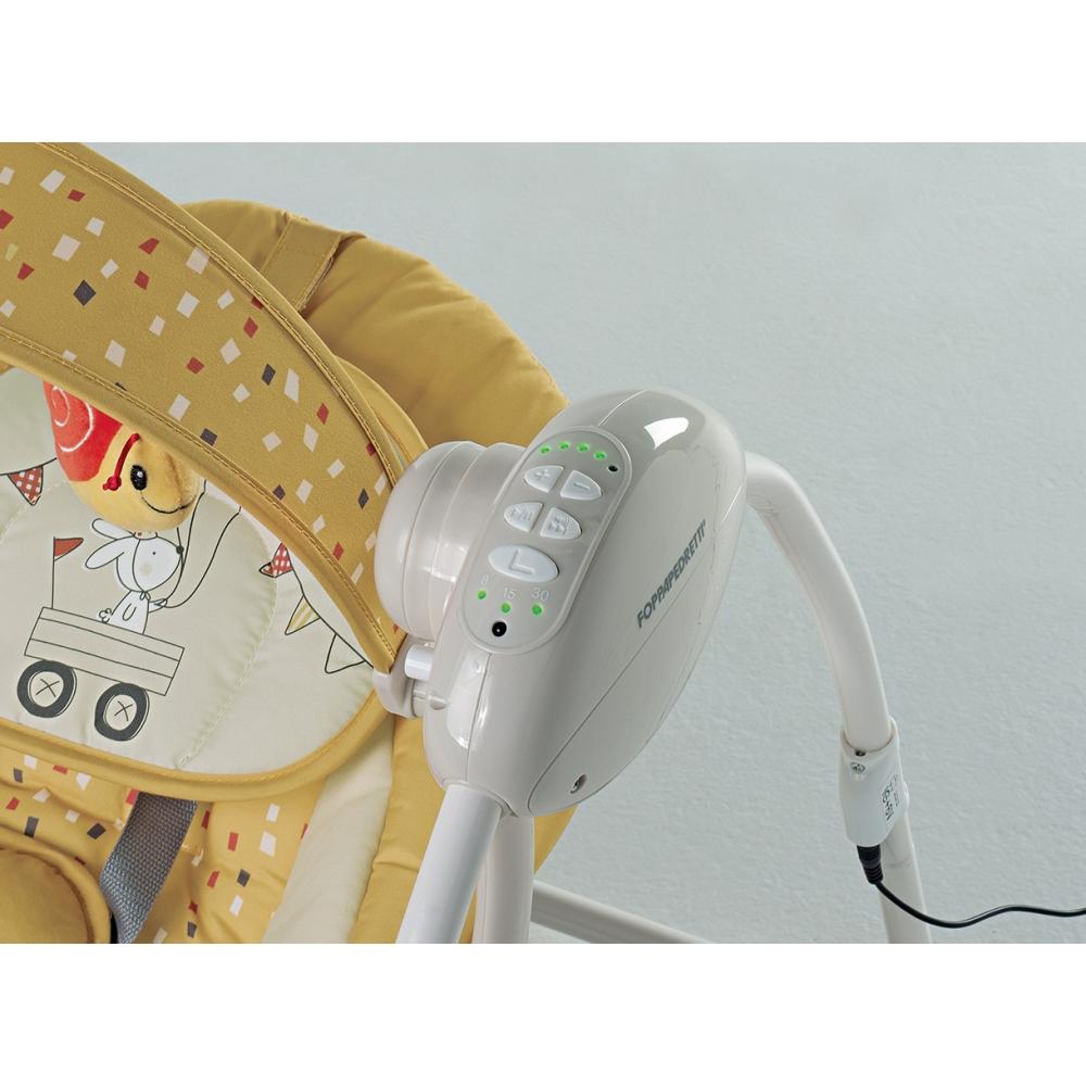 Controller con timer di autospegnimento (8 – 15 – 30 min) e 12 melodie musicali